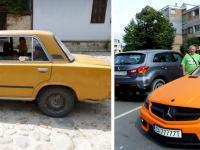 Контрастът между стари и нови автомобили у нас е най-големият цивилизационен шок за чужденците.