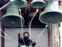 Камбанният звън е една от атракциите в Рилския манастир.